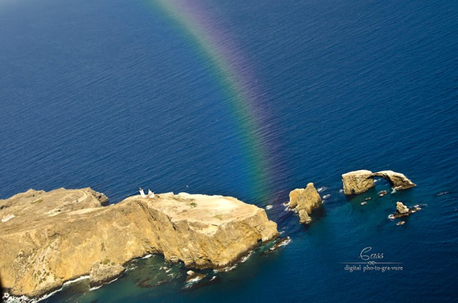 Anacapa Rainbow ©Cass Peterson Greene